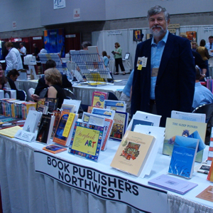 Book Publishers Northwest exhibits members' books each year at the PNBA Fall Trade Show.