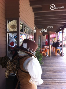 Otherworlds carries steampunk books, games, art, and costumes.